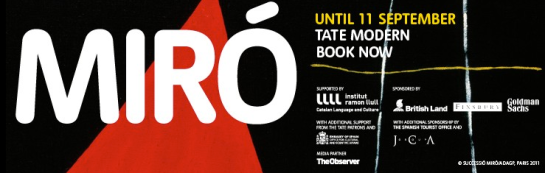 Joan Miró Tate Modern Logo
