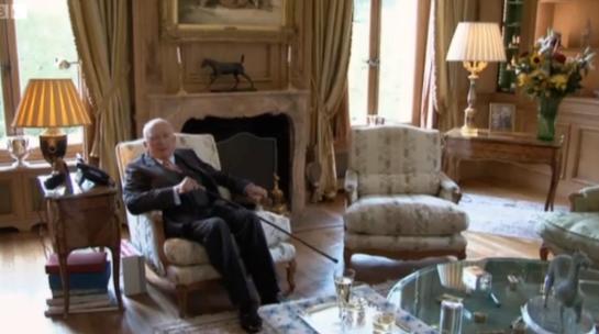 Jean-Paul Guerlain at home