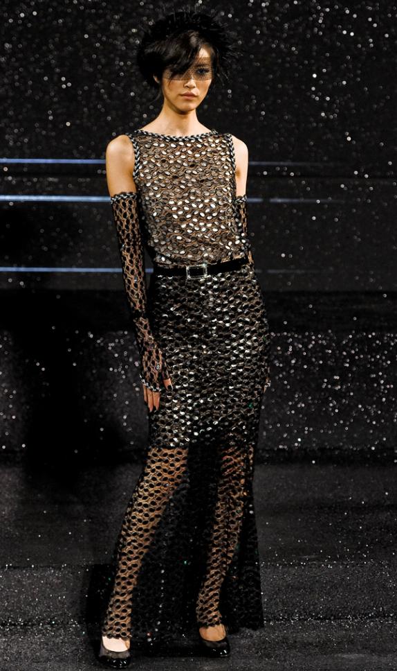 Chanel Couture Fall 2011 Liu Wen
