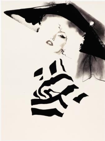 David Downton Dior Couture A/W 2009