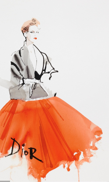 David Downton Dior Couture Spring Summer 2011