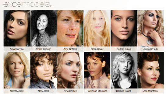 Excel Model Agency