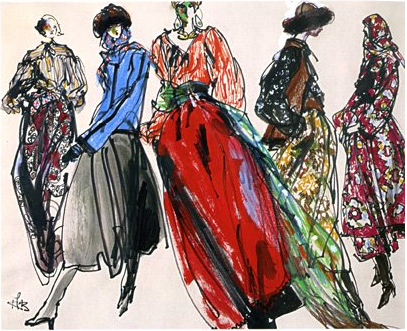 Russian Ballet 1976 Yves Saint Laurent