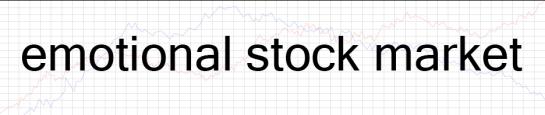 The Emotional Stockmarket