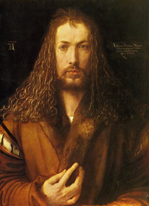 Durer 1500 Self-portrait