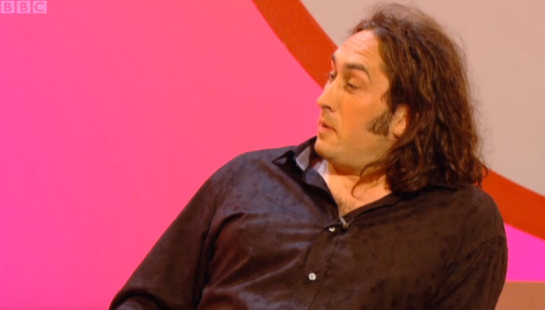 Shooting Stars guest Ross Noble