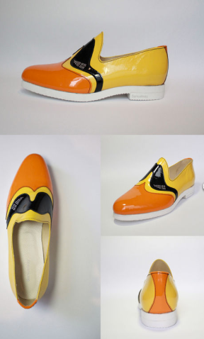 Samuel Way London College Fashion Rubber Duckie shoes