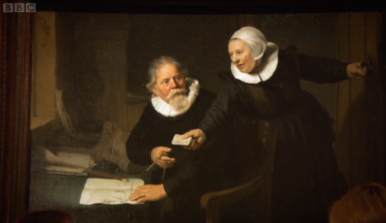 Elegance and Decadence: The Age of the Regency Rembrandt's The Shipbuilder and His Wife