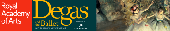 Degas and the Ballet: Picturing Movement - Website Logo