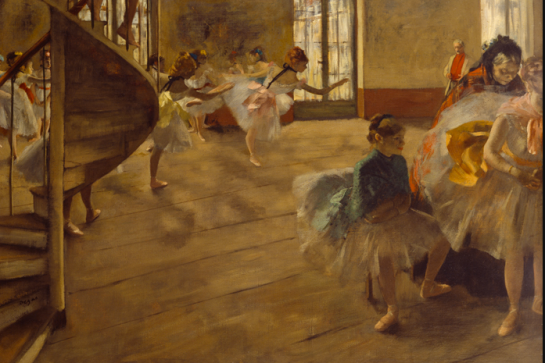 Degas and the Ballet: Picturing Movement - The Rehearsal