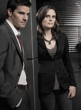 Doctor Bones Brennan and Special Agent Booth