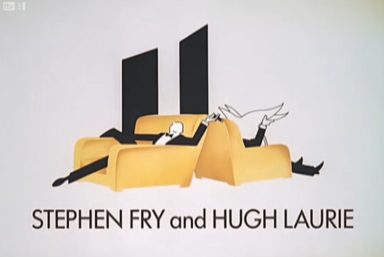 Jeeves and Wooster Opening Credit Fry & Laurie