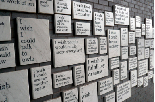 Gordon Watson Wall of Wishes