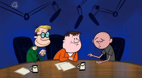 The Ricky Gervais Show Studio Cartoon