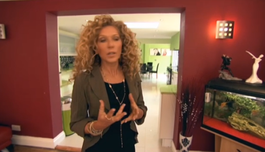 Superior Interiors with Kelly Hoppen - in client's home