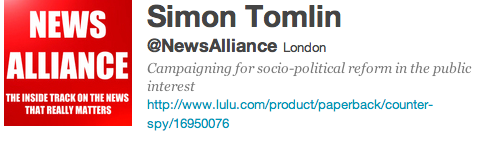 Simon Tomlin News Alliance Twitter