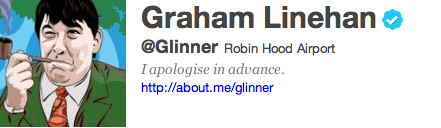 Graham Linehan Twitter Account