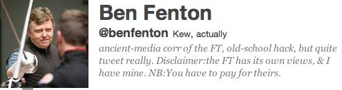 Twitter Ben Fenton