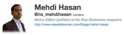 Mehdi Hassan Twitter