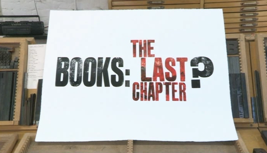 Books: The Last Chapter?