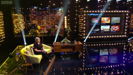 The Sarah Millican Television Program Opening Couch sequence