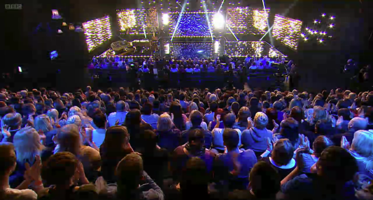 The Sarah Millican Television Program Audience shot