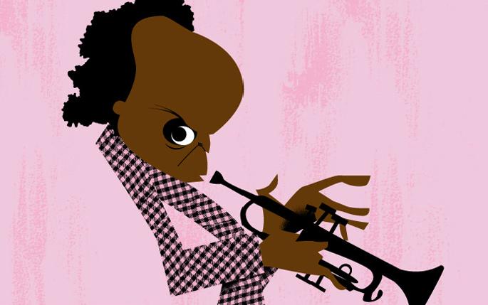 Miles Davis by Jorge Arevalo