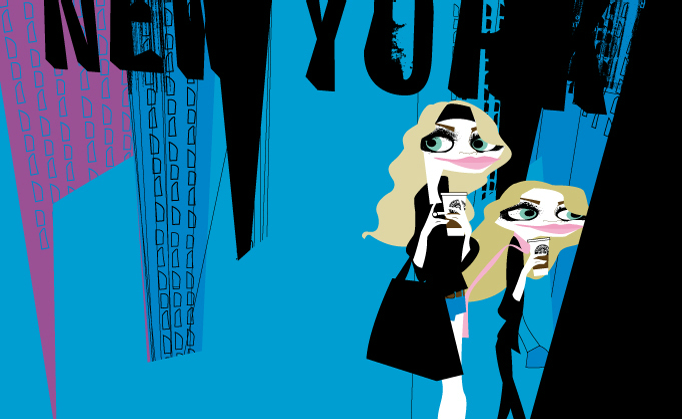 The Olsen Twins by Jorge Arevalo