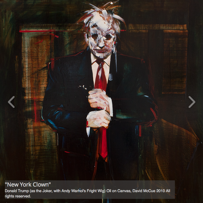 Donald Trump New York Clown
