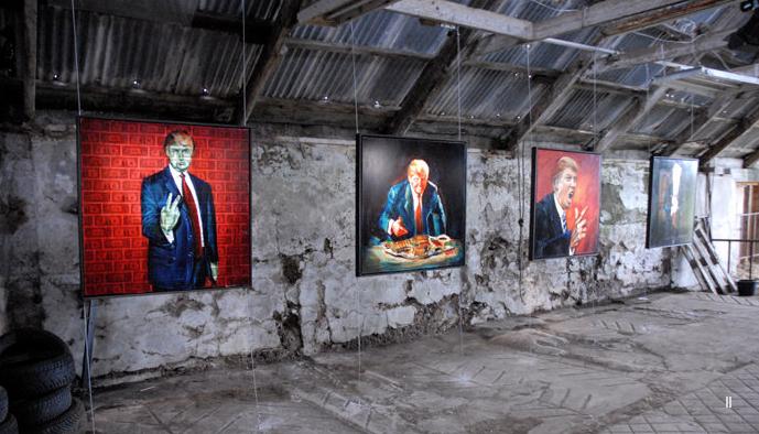 David McCue Triumphant Exhibition