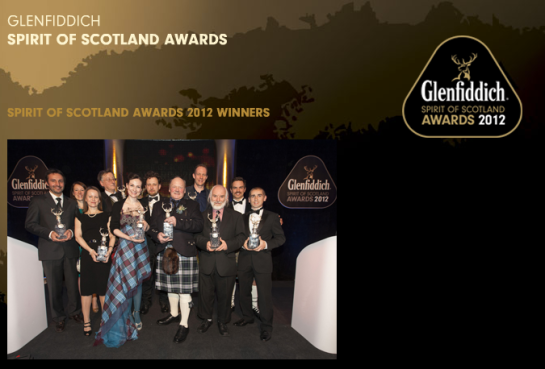 Glenfiddich 2012 Spirit of Scotland