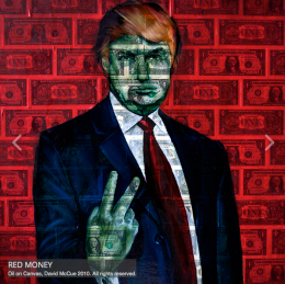 David McCue…Trumping Donald on Canvas