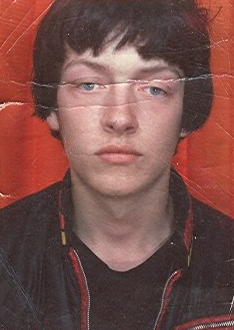 Teenage passport photo